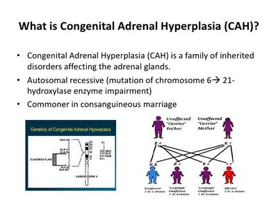 What Is Congenital Adrenal Hyperplasia? or depression accompanied